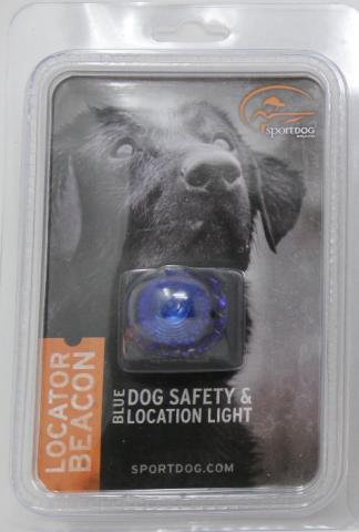SportDOG Locator Beacon Dog Safety and Location Light - Blue